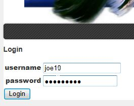Login Credentials