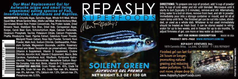 Repashy Soilent Green Gel Food » DandyOrandas com